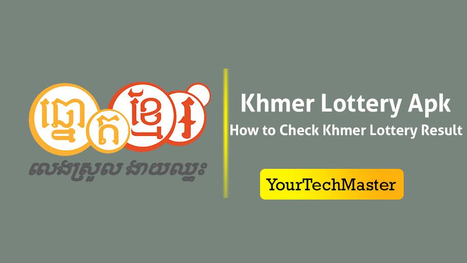 Khmer Lottery Result